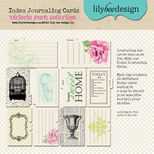 Victoria Park Index Journaling Cards