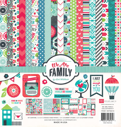 Echo Park Mid Season Release We Are Family Yourscrapbooksupply