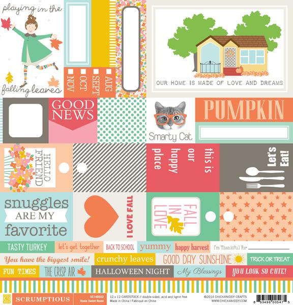 Scrumptious-12x12-Paper-02A-Home-Sweet-Home