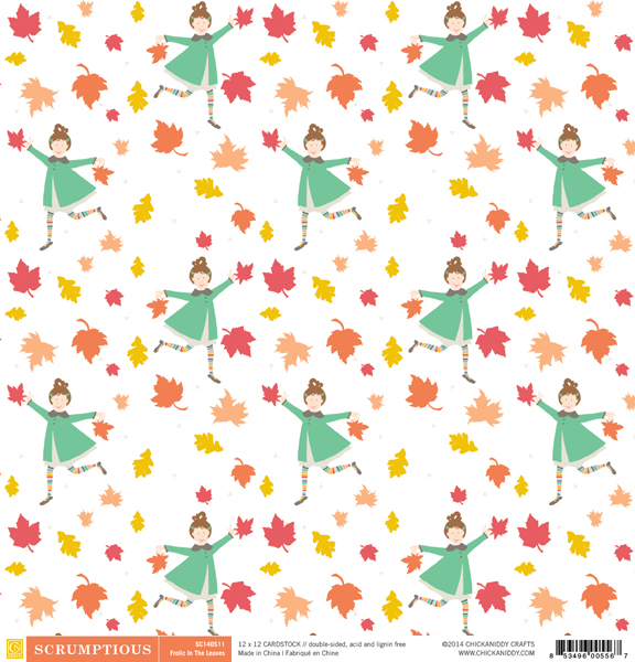 Scrumptious-12x12-Paper-11A-Frolic-In-The-Leaves