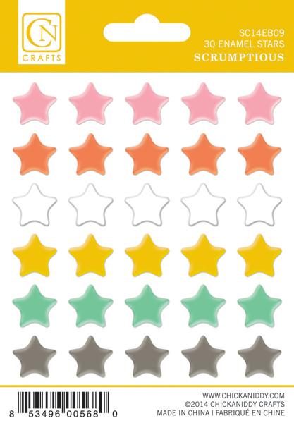 Scrumptious-Enamel-Stars