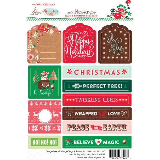 WS1142_sticker_websters_pages_adrienne_looman_gingerbread_village