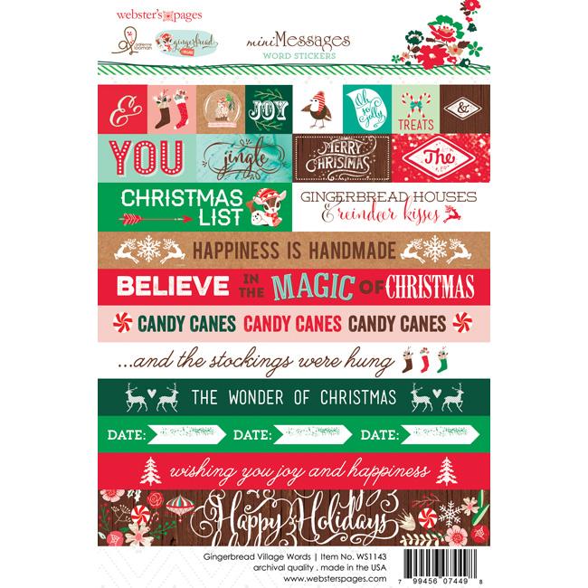 WS1143_sticker_websters_pages_adrienne_looman_gingerbread_village