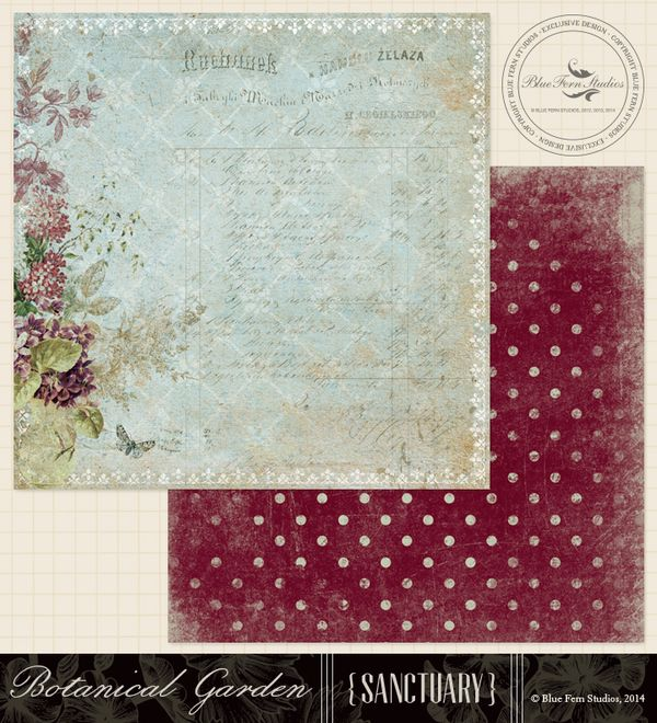 Blue Fern Studios New Paper Release Sanctuary