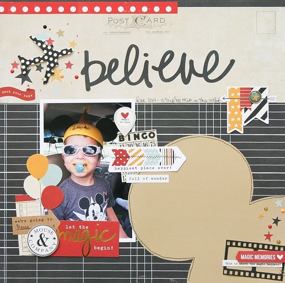 Wendy layout - Believe