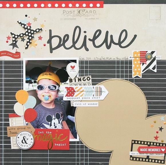 Wendy layout - Believe