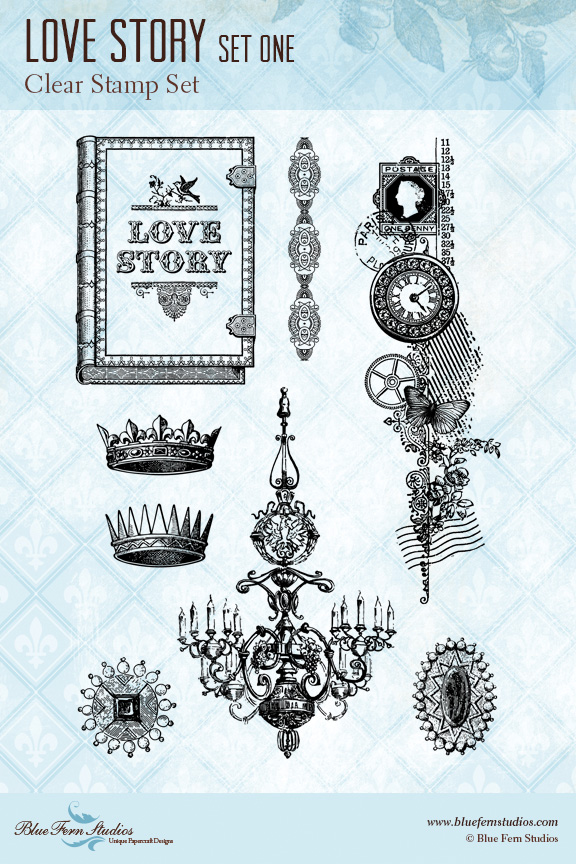 BFS love story set one stamp preview