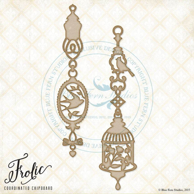 Frolic bird ornaments preview