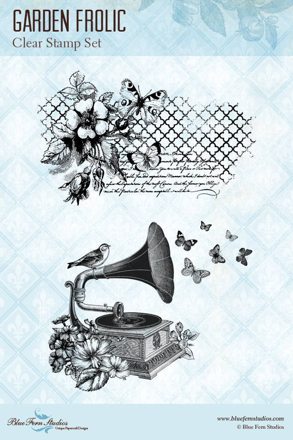BFS garden frolic stamp preview