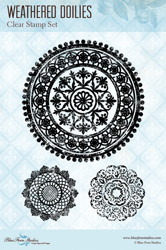 BFS weathered doilies stamp preview
